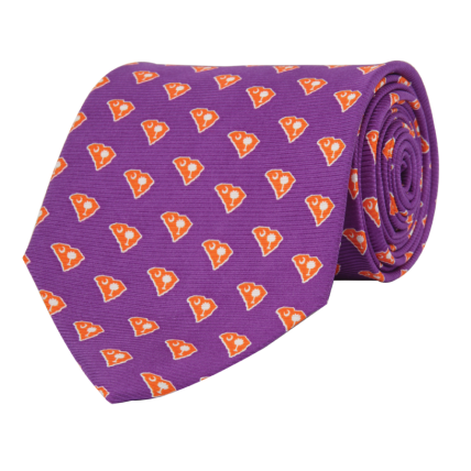 SC Traditional Purple Tie